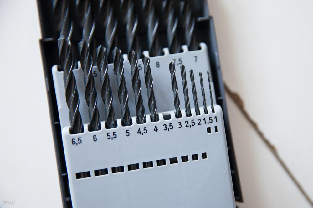 Festplatte befestigen