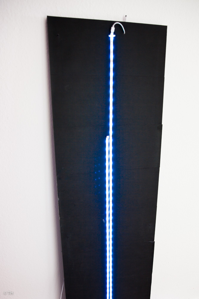 fertige LED-Rückseite