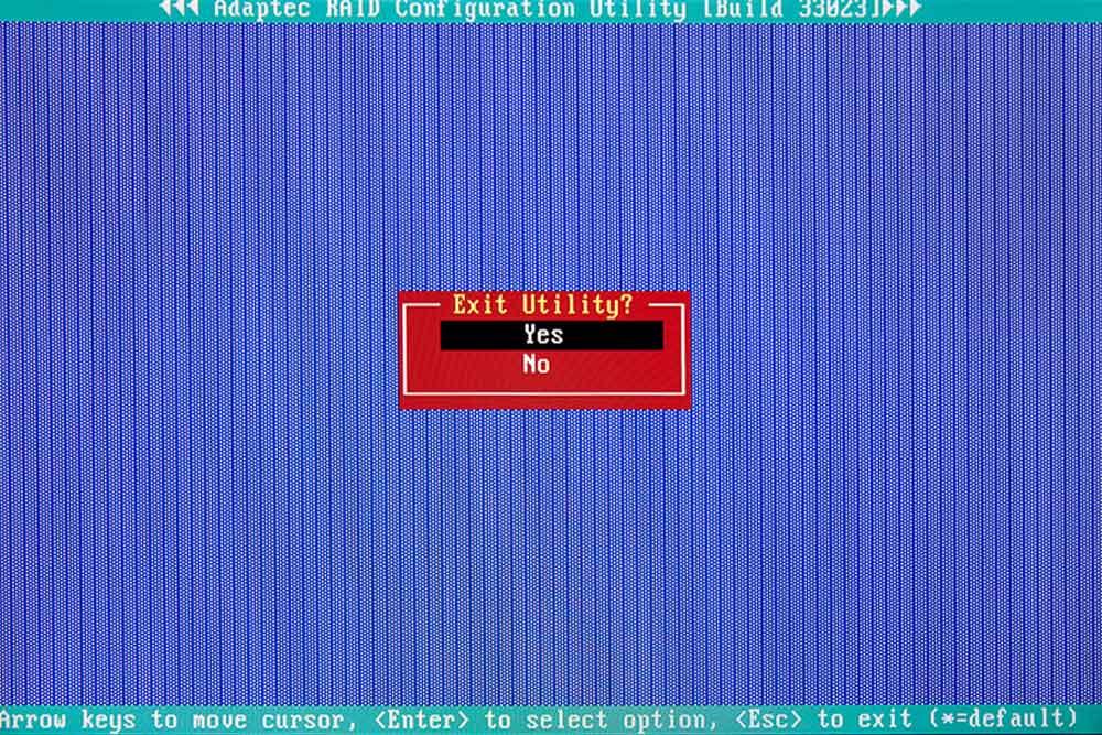 BIOS Raid-Controller speichern