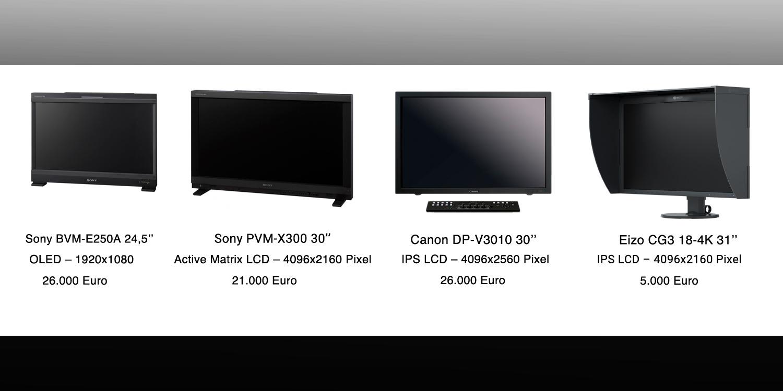 4K monitore